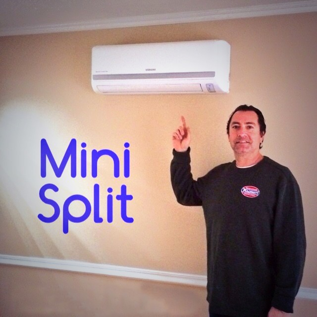 Ductless heating mini split service in Loa Angeles
