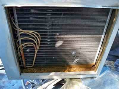 AC Coil Maintenance Required