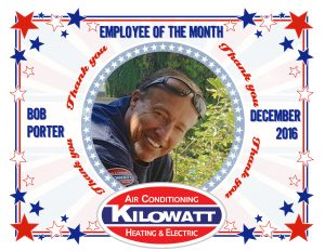 Kilowatt Employee of the Month December 2016