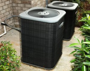 air-conditioning-condensers-near-plants