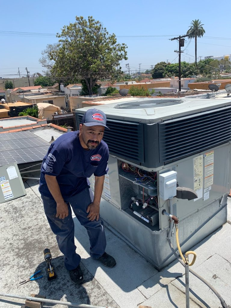 Everybody loves Kilowatt HVAC installer Joe Valle