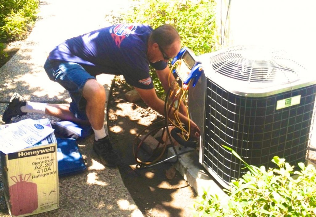 refrigerant-adding-air-conditioning